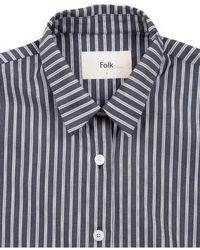 Folk - Folk Boyfriend Shirt - Lyst