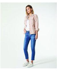 AG Jeans - Prima Crop Indigo Viking - Lyst
