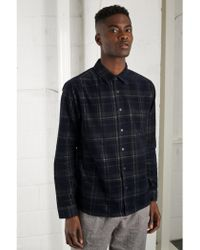 Native Youth - Webster Navy Cord Shirt - Lyst