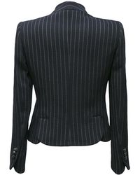 Armani - Chalk Stripe Skirt Suit - Lyst