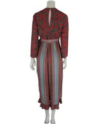 Bl-nk - Mitchell Long Dress In Red - Lyst