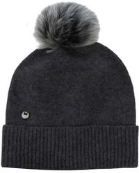 UGG - Women's Luxe Cuff Hat With Oversized Toscana Fur Pom - Lyst