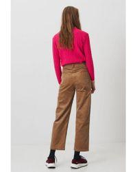 WOOD WOOD - Althea Khaki Woven Trousers - Lyst