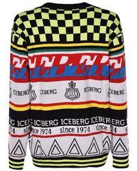 Iceberg - Printed Jumper - Lyst