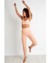 Beyond Yoga Drip Dot Bra - Pink