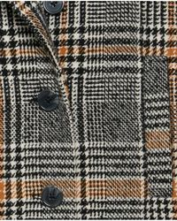 Ichi - Sorba Checked Coat - Lyst