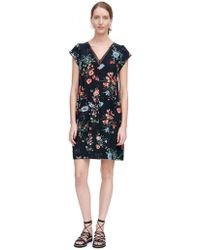 Rebecca Taylor - Meadow V Neck Dress - Lyst