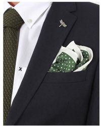 Gibson - Polka Pocket Square - Lyst