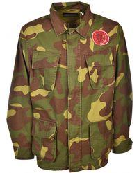 Deus Ex Machina - Travis Camo Shirt In Military Green - Lyst