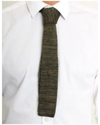 Gibson - Knitted 2 Tone Tie - Lyst