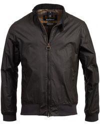 Barbour - Men's Lightweight Royston Harrington Wax Jacket - Lyst