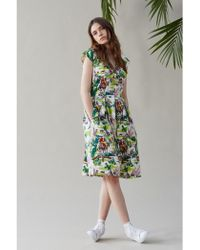 Emily and Fin - Annie Cowboys Full Skirt Day Dress - Lyst