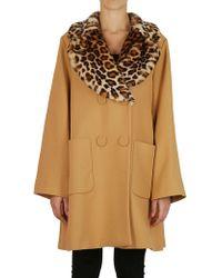 Vivetta - Coat In Camel - Lyst