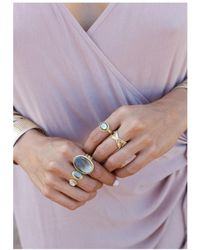 Anna Beck - Mirage Smooth Pyrite Cocktail Ring - Lyst