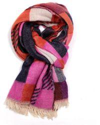 Atterley - Pure Pink Multi Tartan Scarf - Lyst
