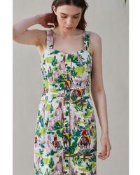 Emily and Fin - Hannah Cowboys Button Through Sun Dress - Lyst