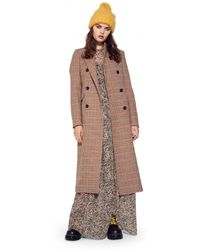 2nd Day - Duster Coat Camel - Lyst
