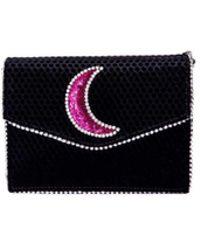 Les Petits Joueurs - Lulu Moon Bag In Black - Lyst