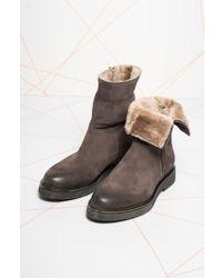 Cara Tulsa Fur Lined Boot - Brown