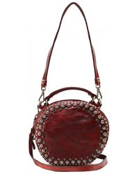 Campomaggi - Leather Wine Bowling Bag - Lyst