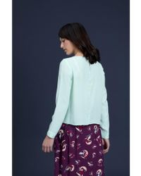 Emily and Fin - Elinor Mint Long Sleeved Top - Lyst