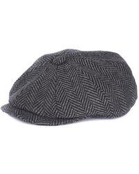 25ed3e947cc Barbour - Mixed Tweed Baker Boy Hat - Lyst · Christys  - Balmoral Melton  Flat Cap - Lyst · Barbour - Men s Beanie Hat Black ...