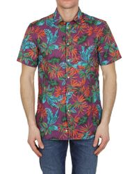 Paolo Pecora - Printed Shirt - Lyst