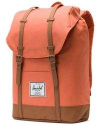 Herschel Supply Co. - Supply Co Retreat Backpack Apricot Brandy / Saddle Brown - Lyst