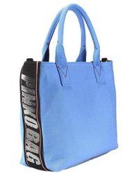 Pinko - Bag Abadeco Light Blue Small - Lyst