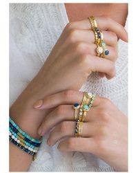 Anna Beck - Abundance Turquoise Multi Stone Ring - Lyst