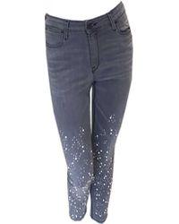Brockenbow - Diademe Reina Embellished Jeans - Lyst