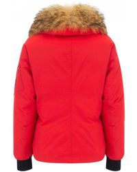Belstaff - Barnsdale Down Jacket In Lava Red - Lyst