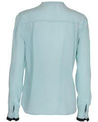 Custommade• - Rachel Shirt In Wasabi - Lyst