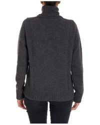 DSquared² - Turtle Neck In Grey - Lyst