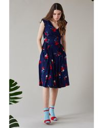 Emily and Fin - Florence Spring Floral Occasion Dress - Lyst