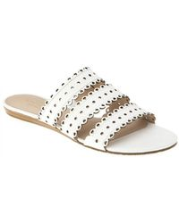 Kate Spade - Brittany White Cut Out Sandal - Lyst