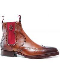 Jeffery West - Leather Novikov Dexter-b Chelsea Boots - Lyst