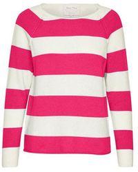 Part Two - Kasmira Stripe Knit Pink - Lyst