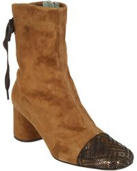 Paola D'arcano - Boots In Brown - Lyst