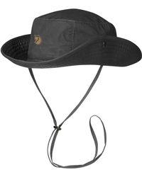 Fjallraven - Fjallraven Abisko Summer Hat Dark Grey - Lyst