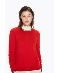Maison Scotch - Basic Rib Knitted Pullover - Lyst