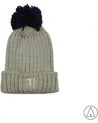 Trussardi - • Knitted Hat In Grey - Lyst