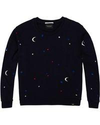 Maison Scotch - Moon & Stars Sweat Nightbird - Lyst