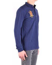 Interlock Lauren Ralph Short Shirt Polo In Custom Lyst Fit Sleeve pLSzGqUMV
