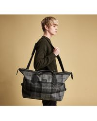 Barbour - Shadow Tartan Explorer Bag - Lyst