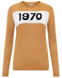 Bella Freud - 1970 Sparkle Graphic Sweater - Lyst