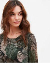 Hartford - Roussel Tropical Leaves Dress - Lyst