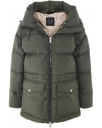 Belstaff - Canova Quilted Down Jacket - Lyst