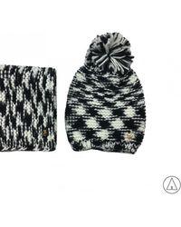 Trussardi - • Knitted Hat In Grey - Lyst