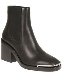 Alexander Wang - Heeled Boots In Black - Lyst